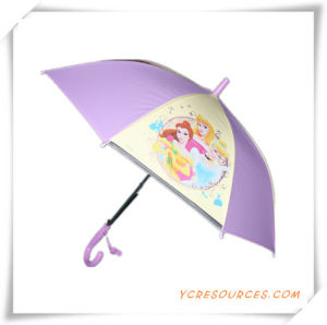 Cartoon Straight Children Umbrella with Whistle (OS11013) pictures & photos