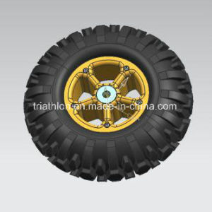 2.50-4 9X3 Pneumatic Tire with Aluminum Alloy Wheel
