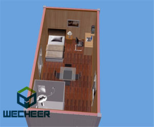 Flat Pack Container House for Construction Site Labor Camp Office and Domitory Meeting Rooms pictures & photos