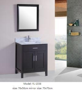 Sanitary Ware Bathroom Vanity Cabinet with Mirror