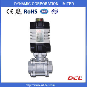 on/off Electric Quarter-Turn Actuator for Ball Valves pictures & photos