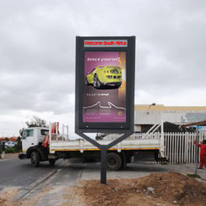 Road Side Advertising Big Format Static Flex Banner LED Light Box pictures & photos