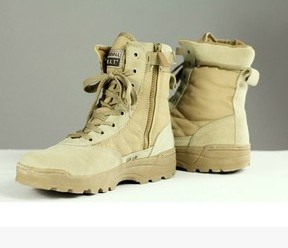 Military Outdoor Tactical Boots Combat Safety Rubber Boots Protective Boots Desert Boots