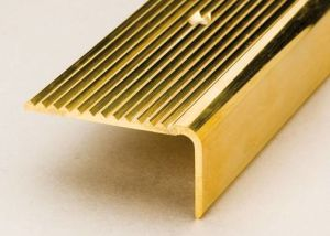 Brass Stair Nosing with Curved Nosing pictures & photos