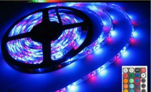 60PCS/M 5050SMD RGB LED Flexible Strip Light DC12V pictures & photos