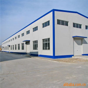 Prefabricated Structure Steel Building with Crane pictures & photos
