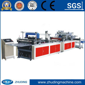 Non Woven Zip Bag Making Machine pictures & photos