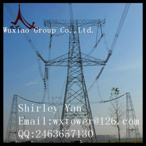 230kv Power Transmission Line Lattice Steel Tower pictures & photos