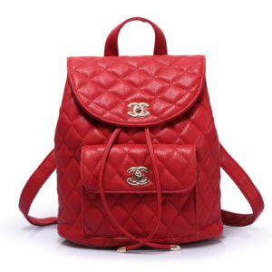 The Newest Wholesale Women Bag Fashion Leather Backpack
