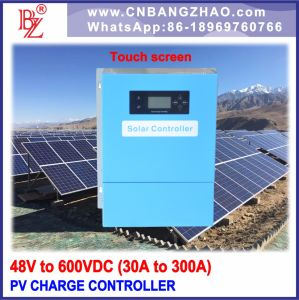 100A Solar Charge Regulator for 96V Battery Bank with Touch Screen pictures & photos