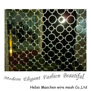 Decorative Ring Mesh / Metal Ring Mesh for Decoration