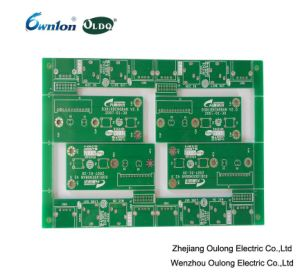 China 2 Layer Hal Lead Free PCB with Green Solder Mask - China ...