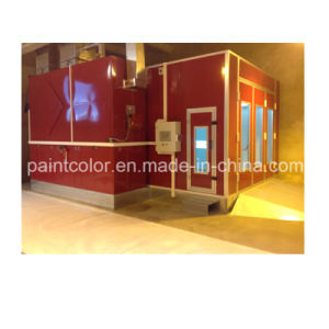 Painting Booth with Heating Energy Recycling System (PC-EU-3E) pictures & photos