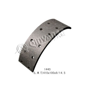 Mack Brake Lining 1443 (FMSI: 1443) Competitive Truck/Trailer Brake Lining pictures & photos
