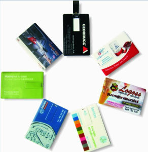 Custom Printing Beer Promotional Credit Card USb Flash Drive pictures & photos