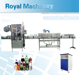 Global Warranty High Speed Sleeve Label Machine pictures & photos