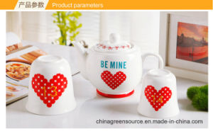 Greensource, Heat Transfer Film for Melamine Plastic Cup for Lovers pictures & photos