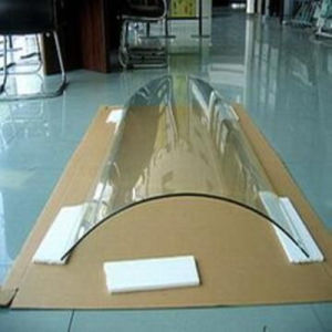 Clear Curved/ Bent Tempered/Toughened Glass for Building Glass pictures & photos