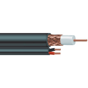 Bc Conductor 95% Braiding Lszh Jacket Rg59 Power Coaxial Cable