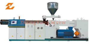 Twin Parallel Extruder Machinery for PVC Pipe Sheet Profile pictures & photos