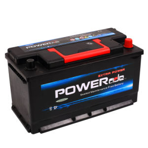 DIN Mf60038-12V100ah Auto Battery with RoHS/CE/Soncap