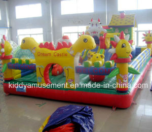 CE Inflatables Inflatable Dream Castle for Indoor Playground
