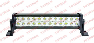 "72 W 12"" LED Light Bar, Automatic LED Bar Lights 4x4, off Road Bar Lights for ATV/Trucks/off Road/Minning"