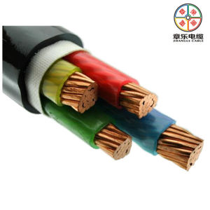XLPE Insulation PVC out-Sheath Cooper Cable 1000kv