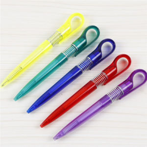 Unique Design Best Selling Plastic Ball Pen for Logo Imprint Tc-7123