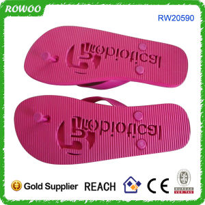 472c25373 China USA EVA Die Cut Flip Flop with Debossed Logo (RW20590) - China ...