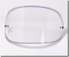 Polycarbonate Bullet-Proof Mask Panel