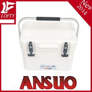Plastic Ice Box with Handle 15L