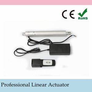 Max 2000n Load Tubular Linear Actuator with Wireless Controller and Handset