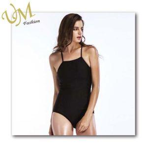 d3cdef71a56 China New Style Sexy Black Women One Piece String Bikini Swimwear ...