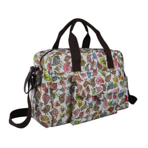 Ladies Fashion Leisure Mummy Handbag Changing Baby Diaper Bag pictures & photos