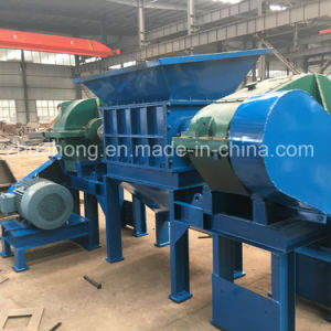 Strong 2 Shaft Shredder, Industrial Waste Tyre Recycling Machine pictures & photos