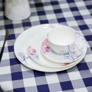 Porcelain Plate Plato De Porcelana Piatto Di Porcellana