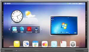 OEM Multi Points IR Touch Screen Monitor with LG/Auo LED Panel and PC  Popular Used in Education