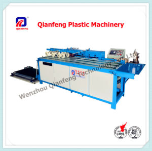 Hot Melt Adhesive Bottom Sewing Machine for Plastic Cement Bag pictures & photos