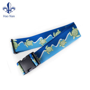 2017 High Quality Luggage Belt with Password Lock pictures & photos