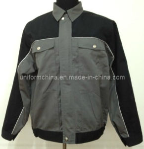 T/C Twill Assorted Color Work Jacket/Workwear/Uniform