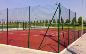 School PVC Coated Wire Mesh Fencing
