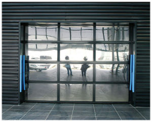 Model II Finger-Protective Garage Door Panel Transparent Garage Door pictures & photos
