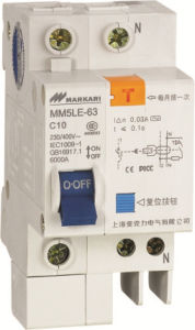 mm5le (C45LE) -63 High Breaking Mini Earth Leakage Circuit Breakers pictures & photos