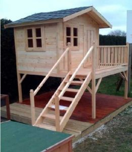 Wooden Playhouse (ST-WH9901)