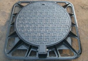 Heavy Duty Ductile Iron Manhole Cover Frame En 124 D400 pictures & photos