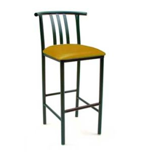 Metal Leg Bar Stool Chair
