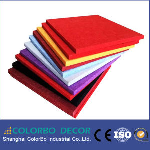 Ce Approved 100% Pet Polyester Fiber Wall Acoustic Panel (soundproof) pictures & photos