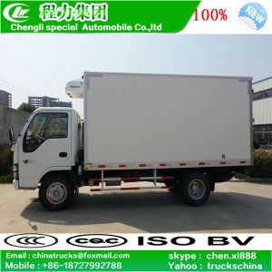 LHD Isuzu 4X2 5tons Refrigerator Freezer Van Refrigerated Truck pictures & photos