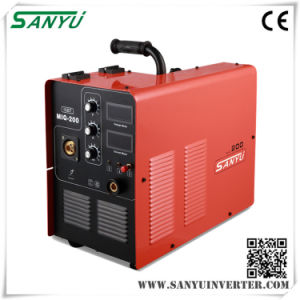 Sanyu Professional Single Phase Compact Inverter MIG/Mag Welding Machine pictures & photos